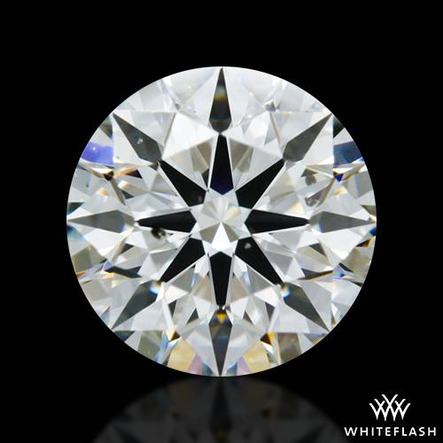 0.916 ct G SI1 A CUT ABOVE® Hearts and Arrows Super Ideal Round Cut Loose Diamond