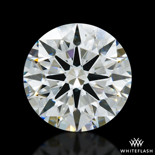 1.038 ct G VS2 A CUT ABOVE® Hearts and Arrows Super Ideal Round Cut Loose Diamond