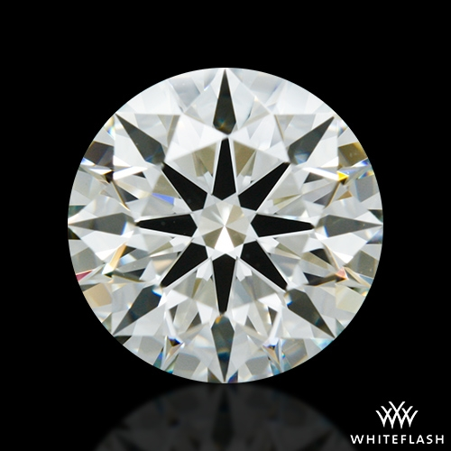 1.308 ct K VS2 A CUT ABOVE® Hearts and Arrows Super Ideal Round Cut Loose Diamond