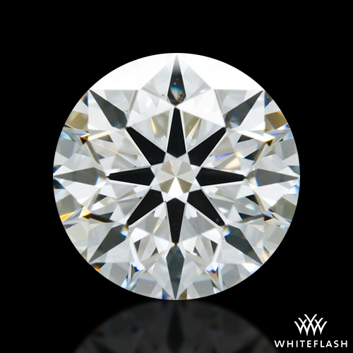 1.291 ct H VS2 A CUT ABOVE® Hearts and Arrows Super Ideal Round Cut Loose Diamond