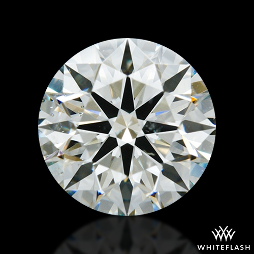 1.476 ct J SI1 A CUT ABOVE® Hearts and Arrows Super Ideal Round Cut Loose Diamond
