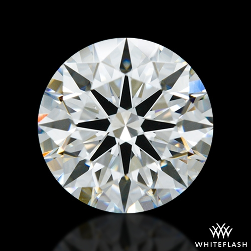 1.657 ct H VS2 A CUT ABOVE® Hearts and Arrows Super Ideal Round Cut Loose Diamond