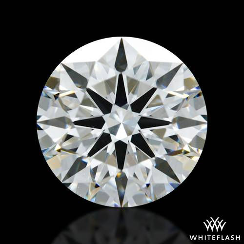 1.291 ct G VS2 A CUT ABOVE® Hearts and Arrows Super Ideal Round Cut Loose Diamond
