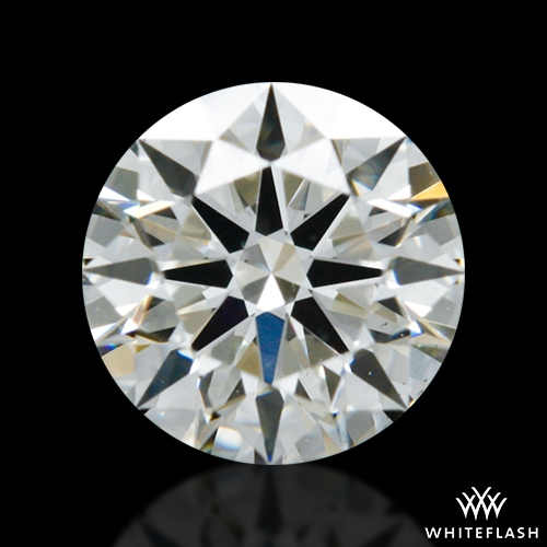 0.426 ct J VS2 A CUT ABOVE® Hearts and Arrows Super Ideal Round Cut Loose Diamond