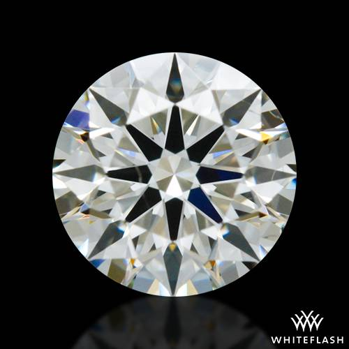 0.417 ct J SI1 A CUT ABOVE® Hearts and Arrows Super Ideal Round Cut Loose Diamond
