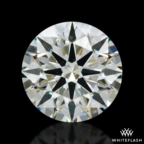 0.515 ct J VS2 A CUT ABOVE® Hearts and Arrows Super Ideal Round Cut Loose Diamond