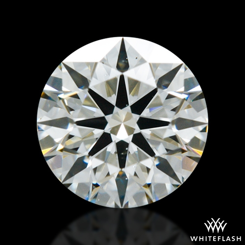 0.512 ct J VS2 A CUT ABOVE® Hearts and Arrows Super Ideal Round Cut Loose Diamond