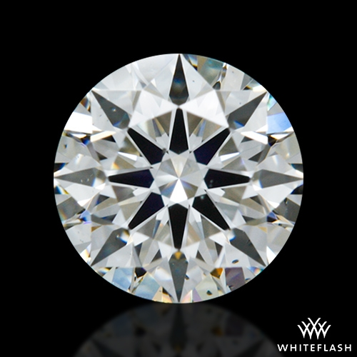 0.618 ct F SI1 A CUT ABOVE® Hearts and Arrows Super Ideal Round Cut Loose Diamond