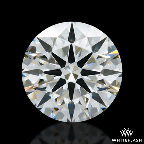 0.608 ct G VS2 A CUT ABOVE® Hearts and Arrows Super Ideal Round Cut Loose Diamond