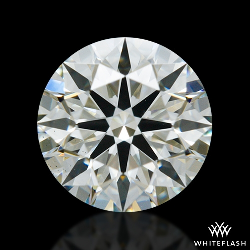 0.612 ct K VS2 A CUT ABOVE® Hearts and Arrows Super Ideal Round Cut Loose Diamond