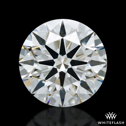 0.716 ct F VS1 A CUT ABOVE® Hearts and Arrows Super Ideal Round Cut Loose Diamond