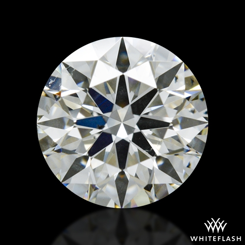 0.927 ct J SI1 A CUT ABOVE® Hearts and Arrows Super Ideal Round Cut Loose Diamond