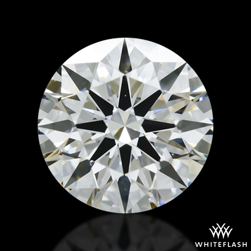 1.24 ct I VS2 A CUT ABOVE® Hearts and Arrows Super Ideal Round Cut Loose Diamond