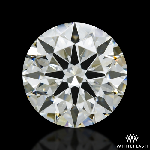 1.346 ct I VS1 A CUT ABOVE® Hearts and Arrows Super Ideal Round Cut Loose Diamond