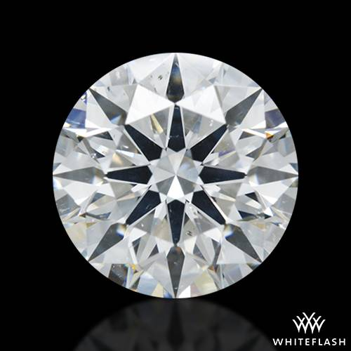 1.353 ct G SI1 A CUT ABOVE® Hearts and Arrows Super Ideal Round Cut Loose Diamond
