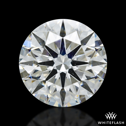 1.38 ct H SI1 A CUT ABOVE® Hearts and Arrows Super Ideal Round Cut Loose Diamond