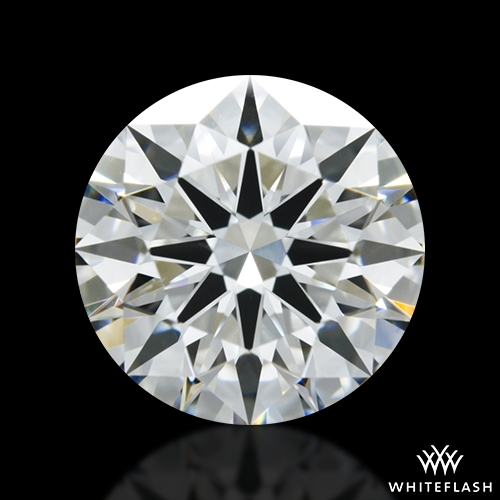 1.406 ct H VS2 A CUT ABOVE® Hearts and Arrows Super Ideal Round Cut Loose Diamond