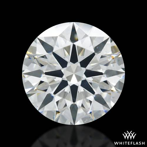 1.437 ct I SI1 A CUT ABOVE® Hearts and Arrows Super Ideal Round Cut Loose Diamond