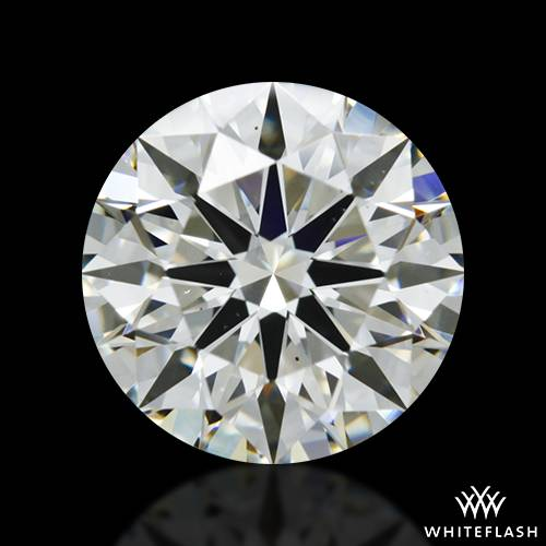1.537 ct J VS2 A CUT ABOVE® Hearts and Arrows Super Ideal Round Cut Loose Diamond