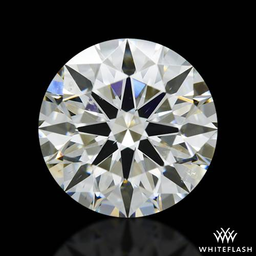 1.725 ct J SI1 A CUT ABOVE® Hearts and Arrows Super Ideal Round Cut Loose Diamond