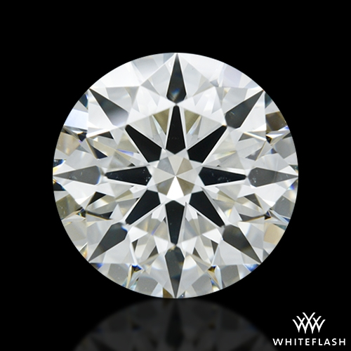 1.967 ct J VS2 A CUT ABOVE® Hearts and Arrows Super Ideal Round Cut Loose Diamond