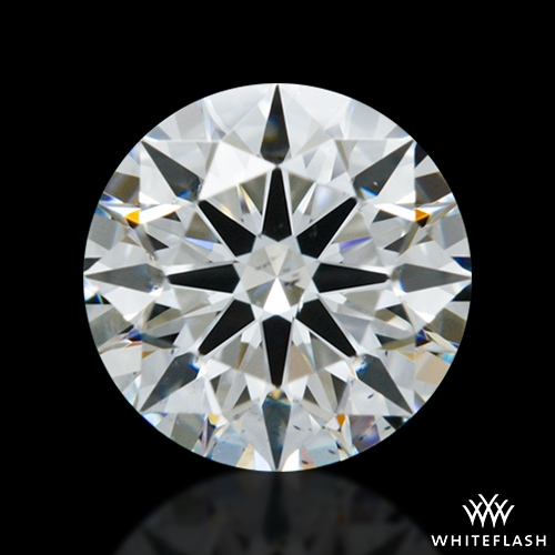 0.604 ct F SI1 A CUT ABOVE® Hearts and Arrows Super Ideal Round Cut Loose Diamond