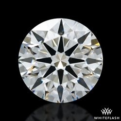 0.603 ct H VS2 A CUT ABOVE® Hearts and Arrows Super Ideal Round Cut Loose Diamond
