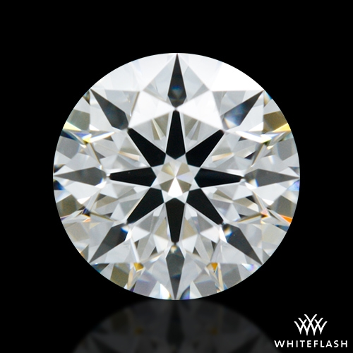 0.701 ct E VS1 A CUT ABOVE® Hearts and Arrows Super Ideal Round Cut Loose Diamond