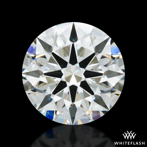 0.792 ct H VS2 A CUT ABOVE® Hearts and Arrows Super Ideal Round Cut Loose Diamond