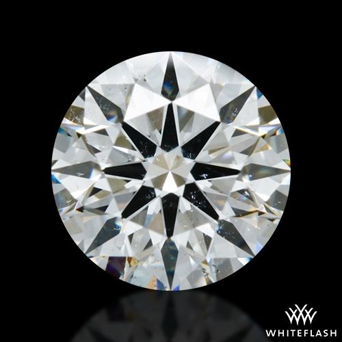 0.79 ct G SI1 A CUT ABOVE® Hearts and Arrows Super Ideal Round Cut Loose Diamond