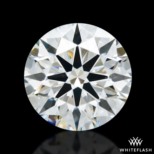 0.856 ct H SI1 A CUT ABOVE® Hearts and Arrows Super Ideal Round Cut Loose Diamond