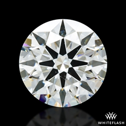 1.197 ct I SI1 A CUT ABOVE® Hearts and Arrows Super Ideal Round Cut Loose Diamond