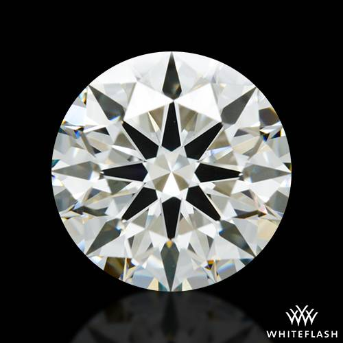 1.26 ct J VS2 A CUT ABOVE® Hearts and Arrows Super Ideal Round Cut Loose Diamond