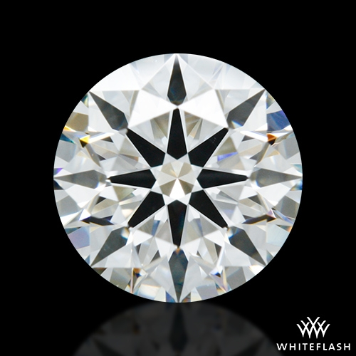 1.301 ct H VS2 A CUT ABOVE® Hearts and Arrows Super Ideal Round Cut Loose Diamond