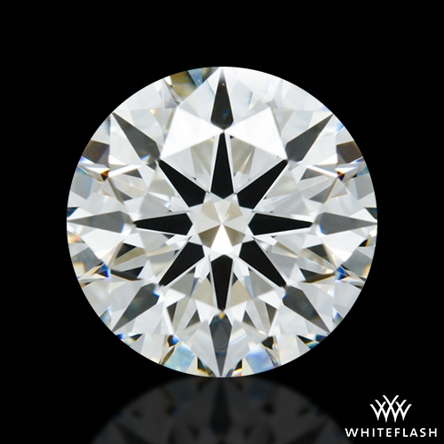 1.308 ct H VS1 A CUT ABOVE® Hearts and Arrows Super Ideal Round Cut Loose Diamond