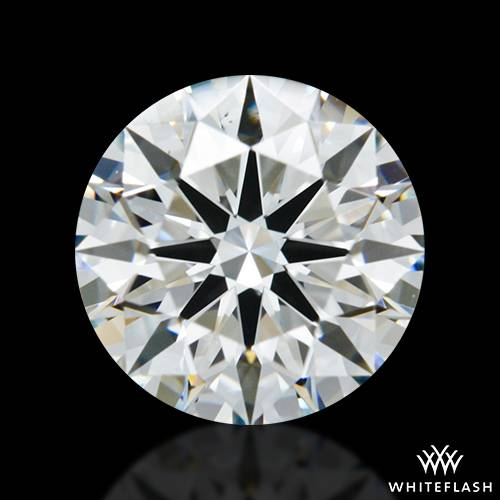 1.331 ct H VS2 A CUT ABOVE® Hearts and Arrows Super Ideal Round Cut Loose Diamond