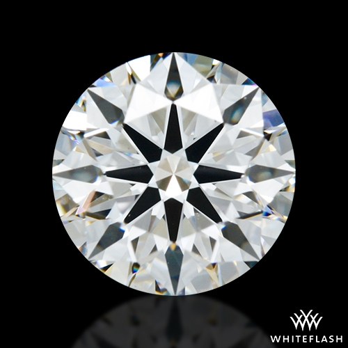 1.347 ct F VS1 A CUT ABOVE® Hearts and Arrows Super Ideal Round Cut Loose Diamond