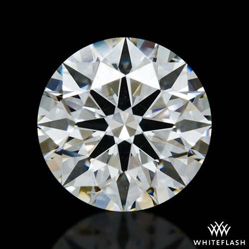 1.438 ct H VS2 A CUT ABOVE® Hearts and Arrows Super Ideal Round Cut Loose Diamond
