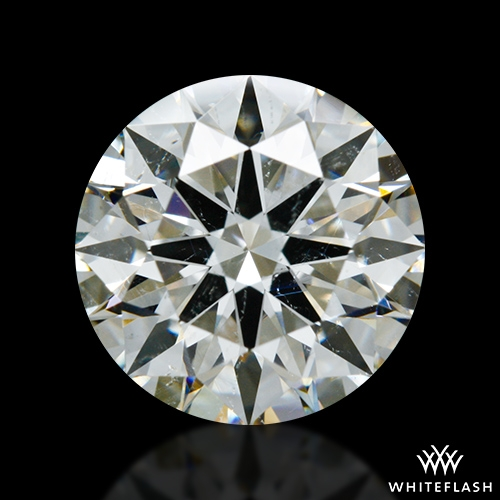 1.713 ct J SI1 A CUT ABOVE® Hearts and Arrows Super Ideal Round Cut Loose Diamond