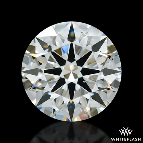1.855 ct I SI1 A CUT ABOVE® Hearts and Arrows Super Ideal Round Cut Loose Diamond
