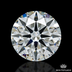 0.828 ct F SI1 A CUT ABOVE® Hearts and Arrows Super Ideal Round Cut Loose Diamond
