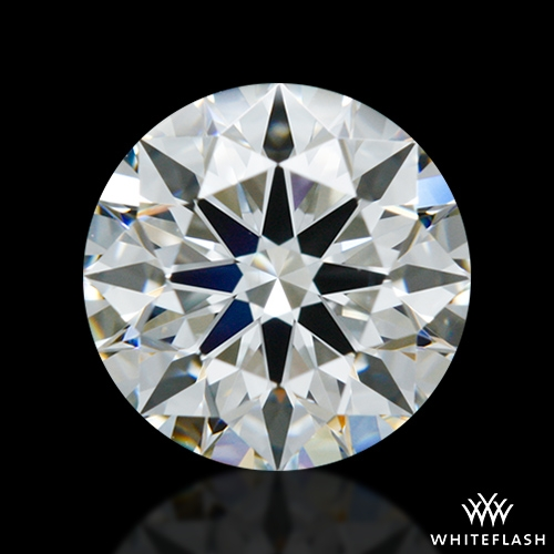 0.838 ct G SI1 A CUT ABOVE® Hearts and Arrows Super Ideal Round Cut Loose Diamond