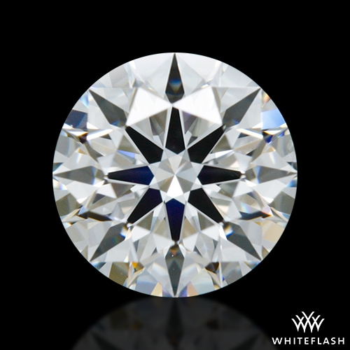 0.864 ct G SI1 A CUT ABOVE® Hearts and Arrows Super Ideal Round Cut Loose Diamond