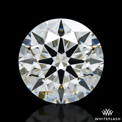 0.836 ct H SI1 A CUT ABOVE® Hearts and Arrows Super Ideal Round Cut Loose Diamond