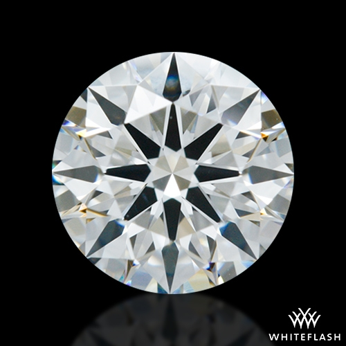 0.877 ct G VS2 A CUT ABOVE® Hearts and Arrows Super Ideal Round Cut Loose Diamond