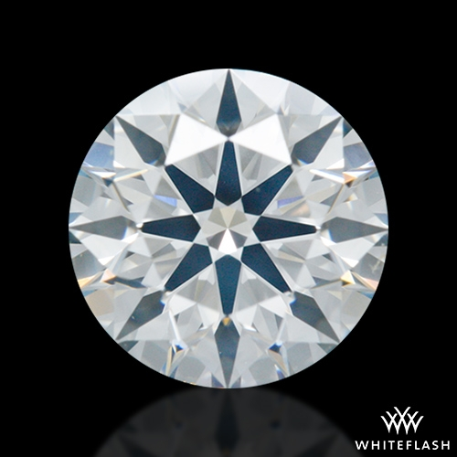 0.895 ct H SI2 A CUT ABOVE® Hearts and Arrows Super Ideal Round Cut Loose Diamond
