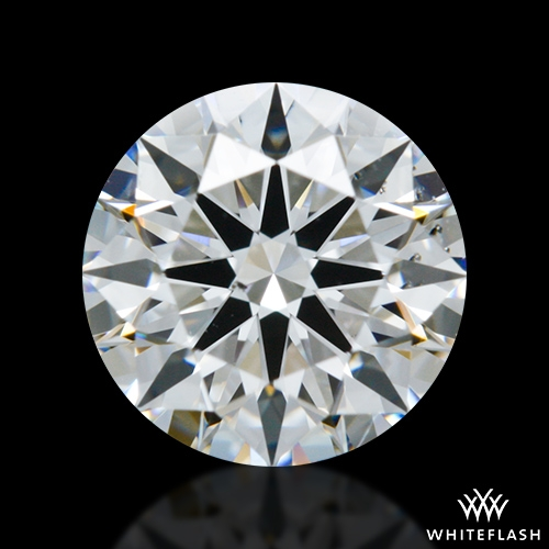 0.892 ct F SI1 A CUT ABOVE® Hearts and Arrows Super Ideal Round Cut Loose Diamond
