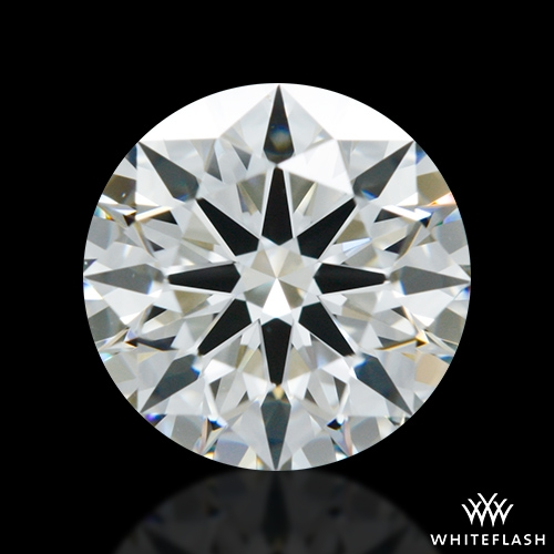 0.945 ct I VS2 A CUT ABOVE® Hearts and Arrows Super Ideal Round Cut Loose Diamond