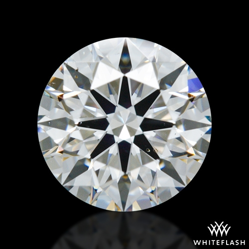 0.97 ct F SI1 A CUT ABOVE® Hearts and Arrows Super Ideal Round Cut Loose Diamond