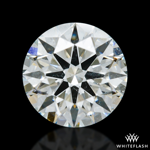 0.975 ct I SI2 A CUT ABOVE® Hearts and Arrows Super Ideal Round Cut Loose Diamond